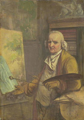 Self-portrait Drawing - Self-portrait, Jurriaan Andriessen by Litz Collection