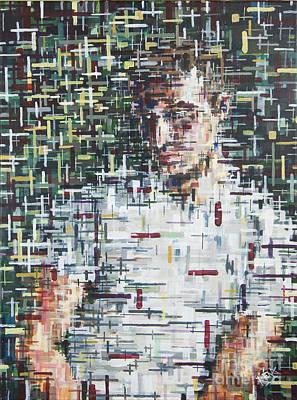 Self Portrait  Art Print by Mark Blome