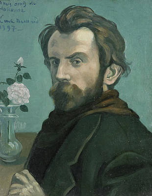 Self-portrait, Émile Bernard Art Print
