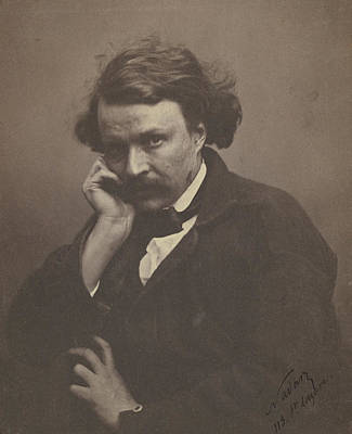 Self-portrait Drawing - Self-portrait Nadar Gaspard Félix Tournachon by Litz Collection