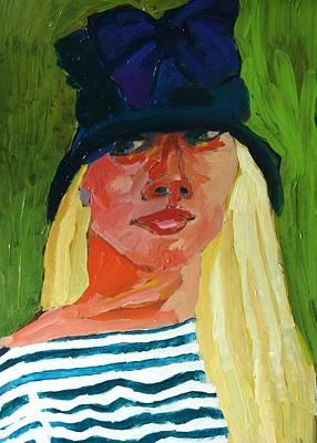 Self-portrait Mixed Media - Self-portrait No . 1 by Janet Ashworth