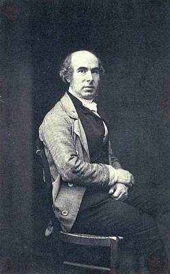 Self-portrait Drawing - Self Portrait Of Eduard Isaac Asser, Eduard Isaac Asser by Artokoloro