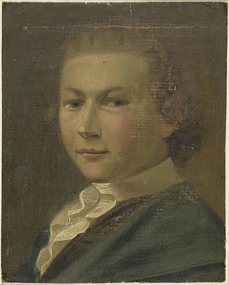 Self-portrait Drawing - Self-portrait Of Gabriël Van Rooyen, Gabriël Van Rooyen by Litz Collection