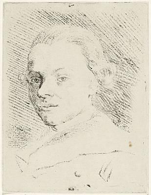 Self-portrait Drawing - Self-portrait Of Jabez Heenck, Jabes Heenck by Artokoloro