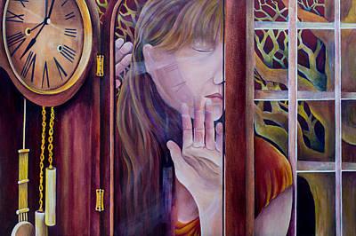 Analog Painting - Self Portrait by Pamela  Perran-Gosnell