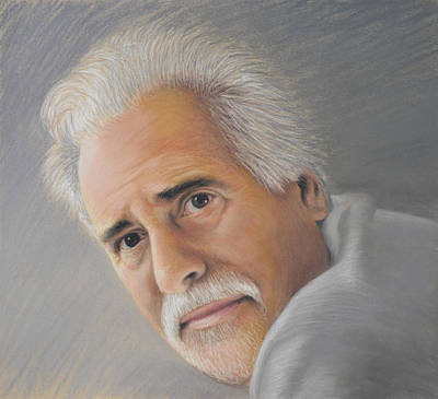 Pastel - Self Portrait - Pastel by Ben Kotyuk