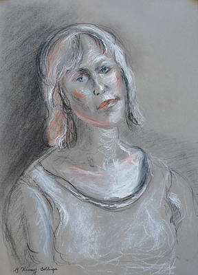 Palo Cedro Painting - Self Portrait  by Patricia Kimsey Bollinger