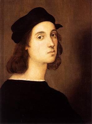 1506 Painting - Self Portrait by Raffaello Sanzio