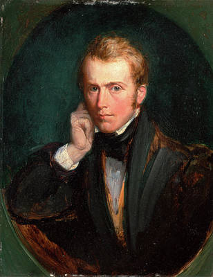 Self-portrait, Richard Redgrave, 1804-1888 Art Print