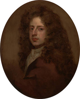 Kneller Painting - Self-portrait, Sir Godfrey Kneller, 1646-1723 by Litz Collection
