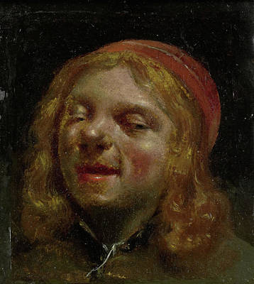 Self-portrait Drawing - Self Portrait, So-called Portrait Of Jan Fabus by Litz Collection