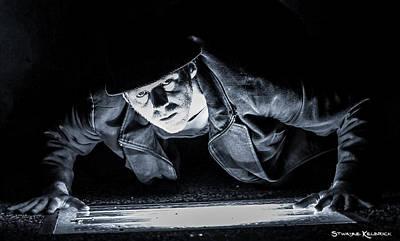 Photograph - Self Portrait  by Stwayne Keubrick