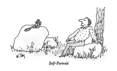 Self-portrait Art Print by William Steig
