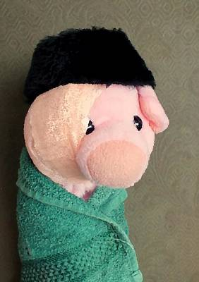 Photograph - Self Portrait With Bandaged Ear by Piggy