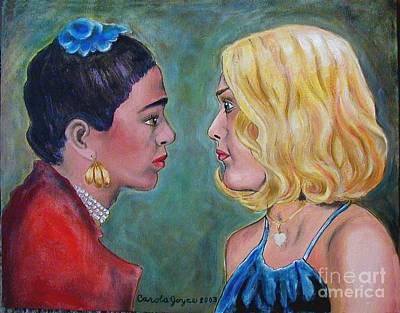Self Portrait With Frida Profiles Study 2 Original