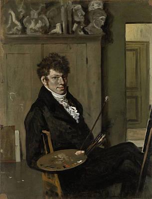 Self-portrait Drawing - Self-portrait, Wouter Johannes Van Troostwijk by Litz Collection