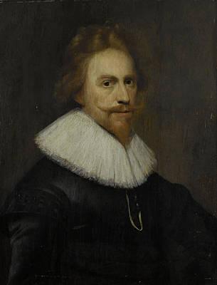 Self-portrait Drawing - Self-portrait, Wybrand De Geest by Litz Collection