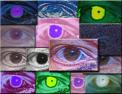 Photograph - Self Portriat Of A Photographic Eye by David Coblitz