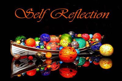 Self Reflection Art Print by Kelly Reber