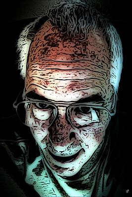 Digital Art - Self  by Ron Bissett