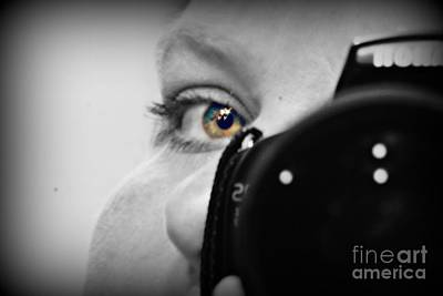 Manipulation Photograph - Selfie by Felicity McNelley