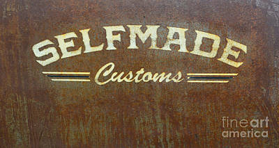 Photograph - Selfmade Customs by Luther Fine Art