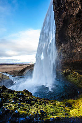 Craig Brown Photograph - Seljalandsfoss Waterfall by Craig Brown