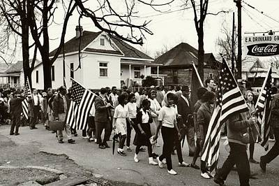 Black History Photograph - Selma To Montgomery by Benjamin Yeager