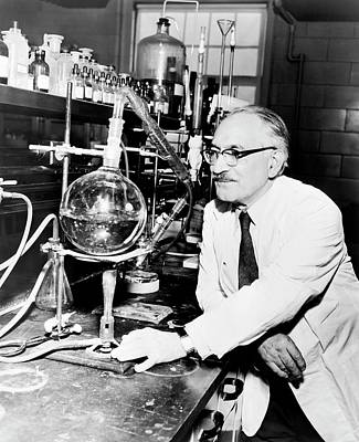 Physiology Photograph - Selman Waksman by Library Of Congress