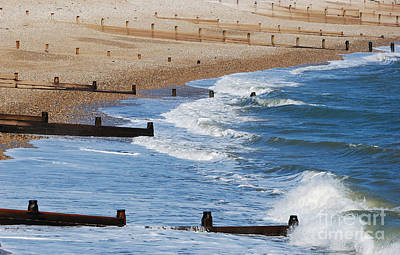 Photograph - Selsey Surf by Wendy Wilton