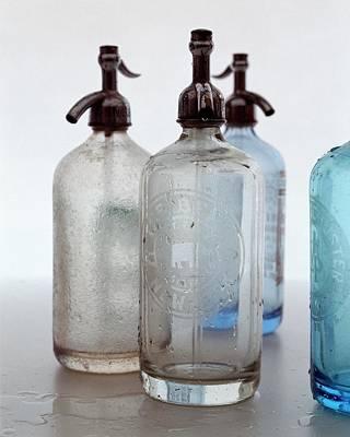 Interior Decoration Photograph - Seltzer Bottles by Romulo Yanes