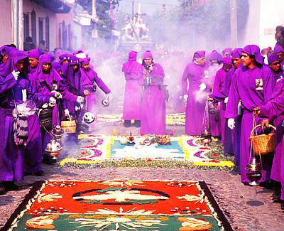 Photograph - Semana Santa - Incense Pots by Robert  Rodvik