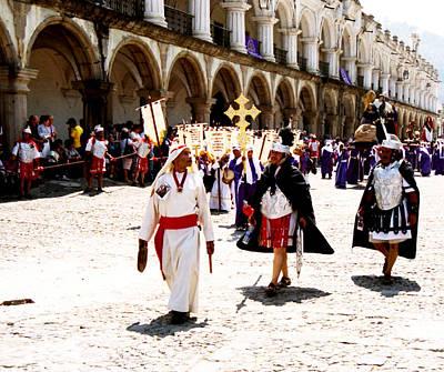 Photograph - Semana Santa - Procesion De La Merced #3 by Robert  Rodvik