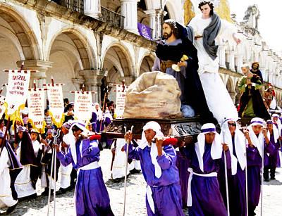 Photograph - Semana Santa - Procesion De La Merced #6 by Robert  Rodvik