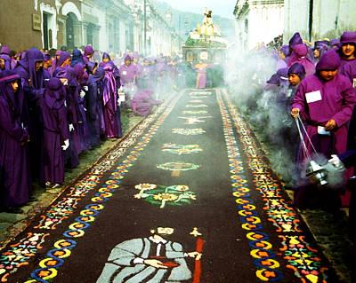 Photograph - Semana Santa - Procesion by Robert  Rodvik