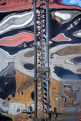 Photograph - Semi Trailer Abstraction by Steven Richman