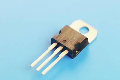 Semiconductor Transistor Art Print