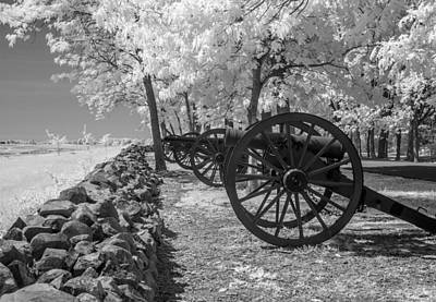 Photograph - Seminary Ridge   8d00037i by Guy Whiteley