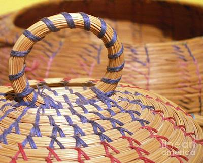 Photograph - Seminole Basket by Valerie Reeves