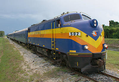 Photograph - Seminole Gulf Mystery Dinner Train by John Black