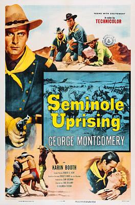 Seminole Uprising, Us Poster, George Art Print