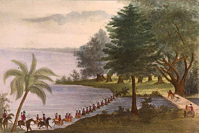 Seminole Wars, 1835 Art Print by Granger