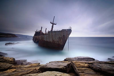 Shipwreck Photograph - Semiramis by Mary Kay