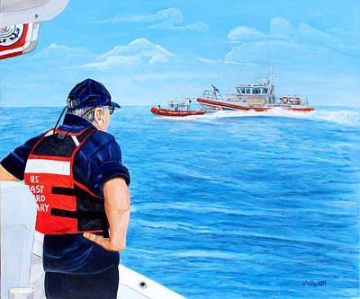 Painting - Semper Paratus by Dorothy Riley