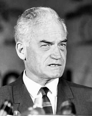 Photograph - Senator Barry Goldwater by Underwood Archives