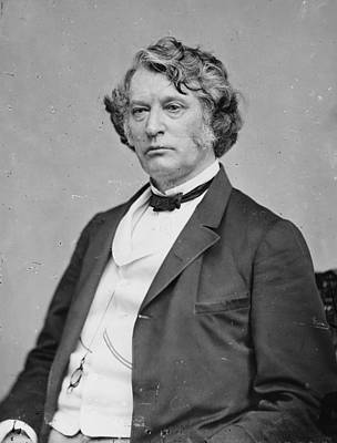 Senator Charles Sumner By Matthew Brady Print by Everett