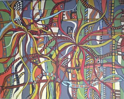 Senderos #3 Art Print