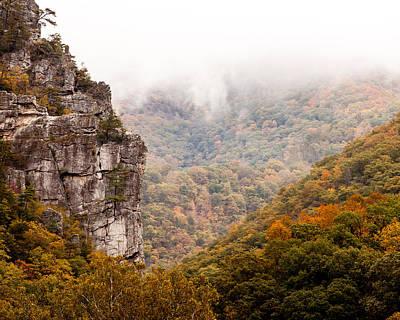 Photograph - Seneca Fog by Melinda Ledsome