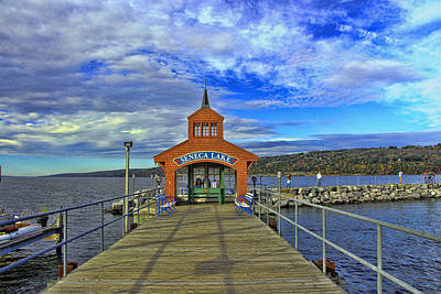 Photograph - Seneca Lake by Allen Beatty