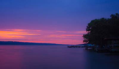Seneca Lake Photograph - Seneca Lake Glows 2 by Photographic Arts And Design Studio